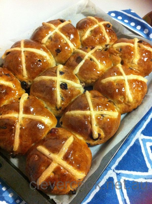 Gluten free hot cross yumminess!