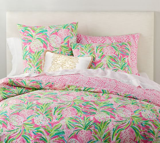 Lilly Pulitzer Alotta Colada Reversible Percale Patterned
