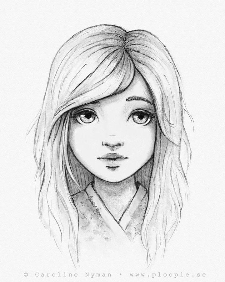 Drawings Of People: Pencil And Digital Drawings, Lines, Sketches Etc