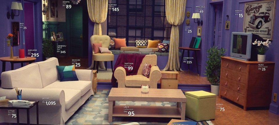 Ikea Stellt Wohnzimmer Beliebter Serien Nach Inneneinrichtung