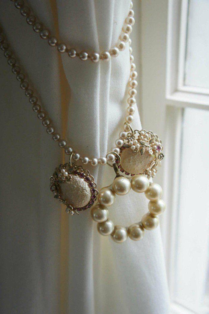 Embrasse rideau - 80 modèles originaux pour une décoration de charme ...