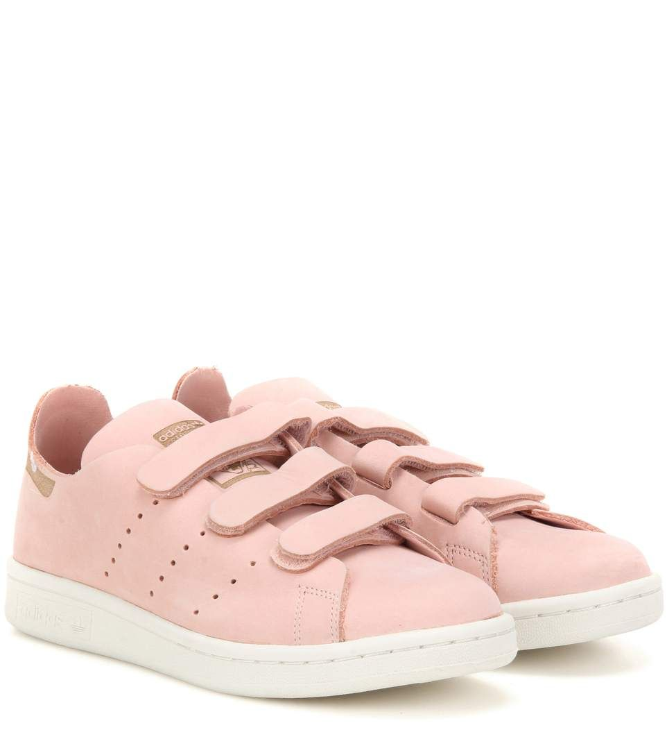 Stan Smith Comfort pink suede sneakers