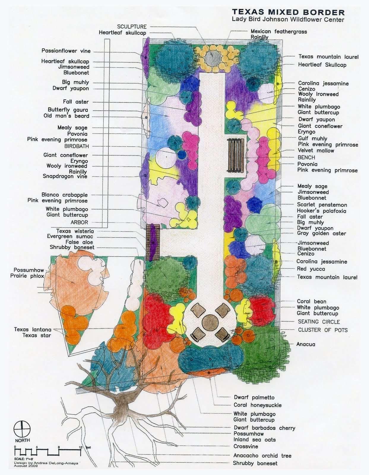 English Garden Plan New Rock Rose An English Cottage Garden Texas