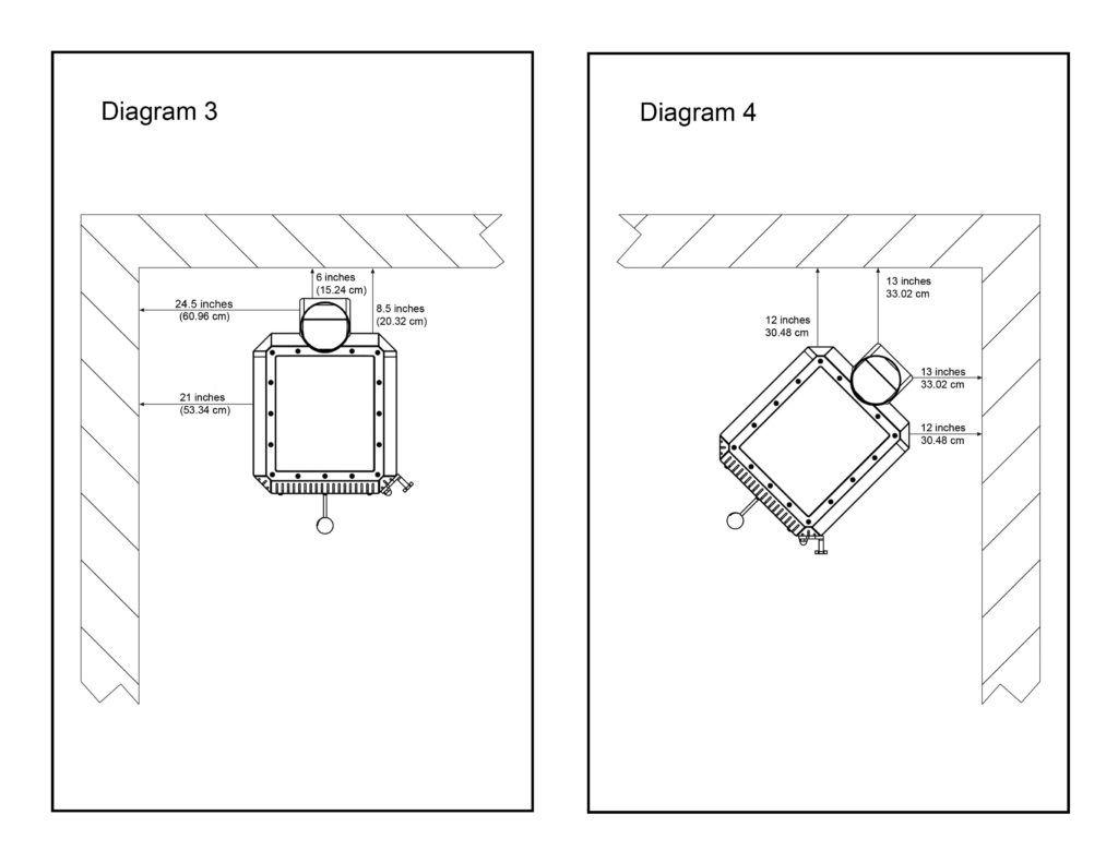 katydid small wood burning stove installation diagrams 3 4 [ 1024 x 791 Pixel ]