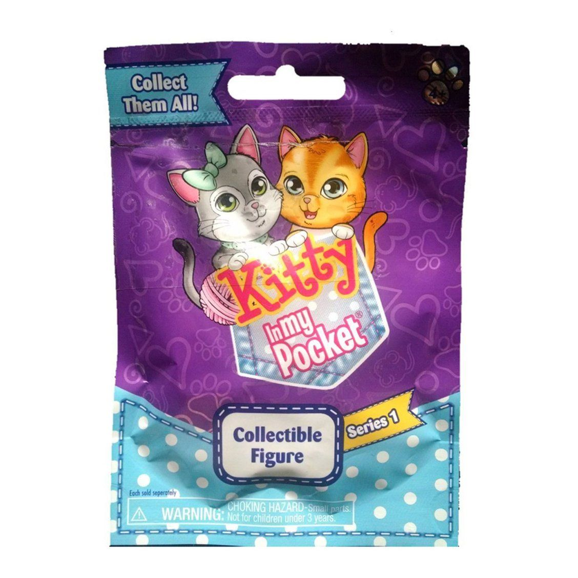 Kitty In My Pocket Series 1 Blind Bag Collect Them All One Cute Fuzzy Kitten In Each Bag Christmas Toys For Girls Baby Girl Toys Blind Bags