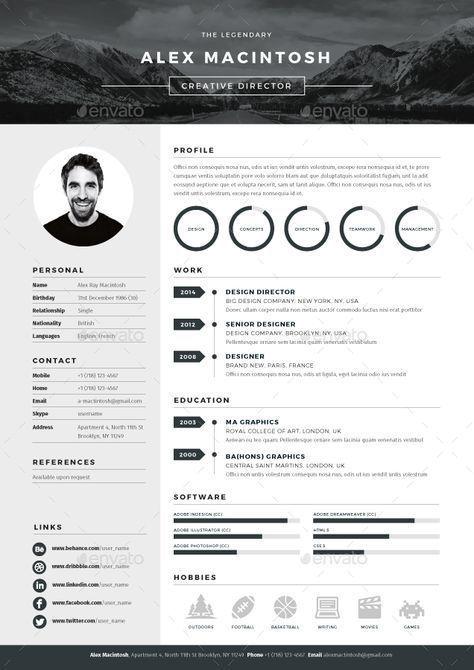 resume   mono resume