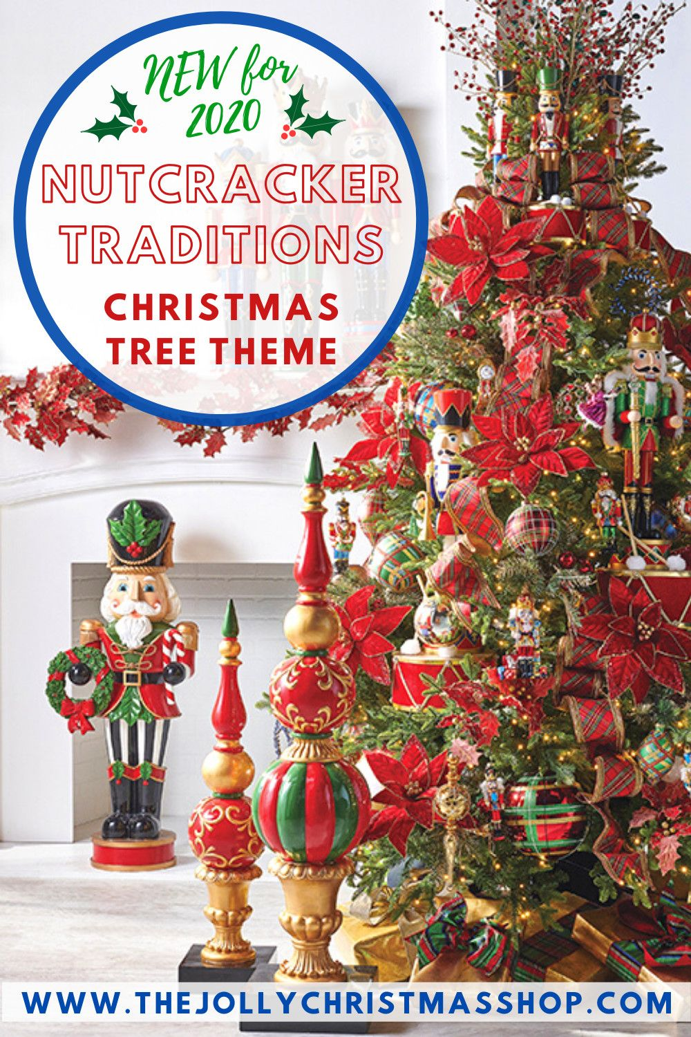 New For 2020 Nutcracker Traditions Christmas Tree Theme The Raz Impor In 2020 Nutcracker Christmas Decorations Nutcracker Christmas Tree Christmas Tree Themes