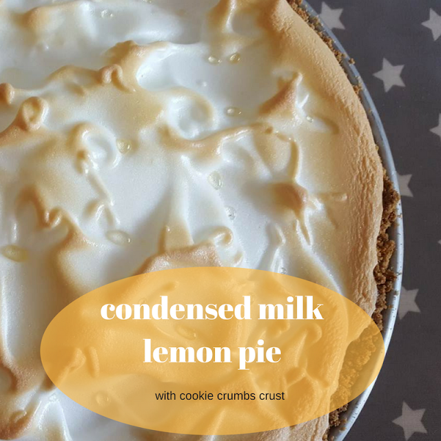 Condensed Milk Lemon Pie Lemon Pie Recipe Condensed Milk Lemon Pie Lemon Pie Recipe