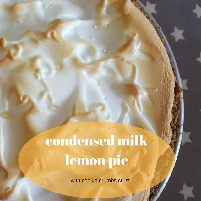 Condensed Milk Lemon Pie Lemon Pie Recipe Condensed Milk Lemon Pie Lemon Pie Recipe