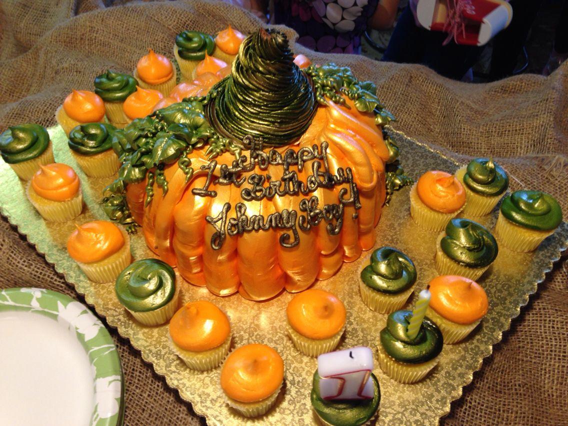 Fantastic Pumpkin Cake From Winn Dixie Pumpkin Cake Cake Pumpkin Birthday Cards Printable Trancafe Filternl