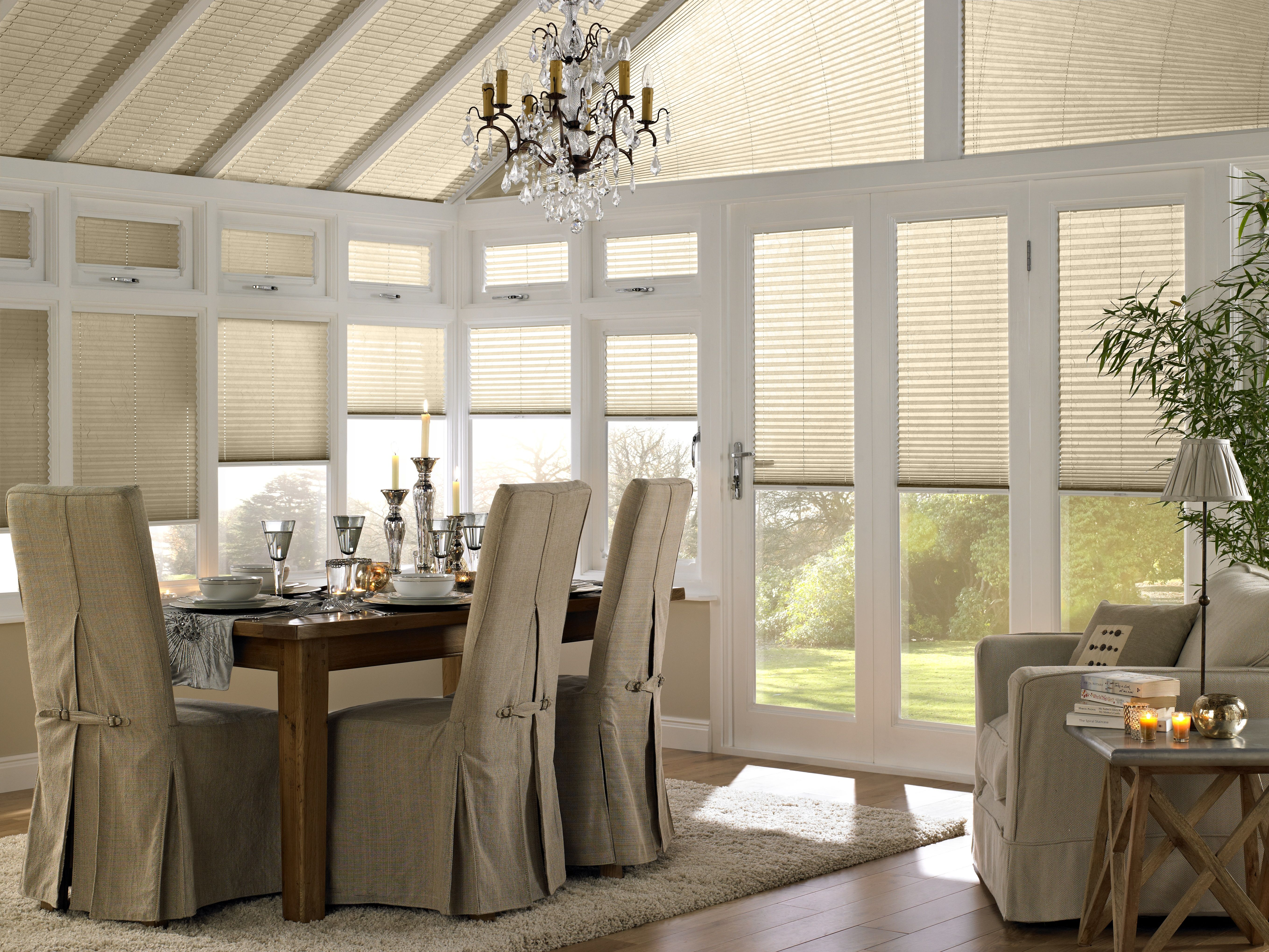 Dining Room Window Blinds Conservatory Pleated Traditional Autumn  Conservatory  Pinterest