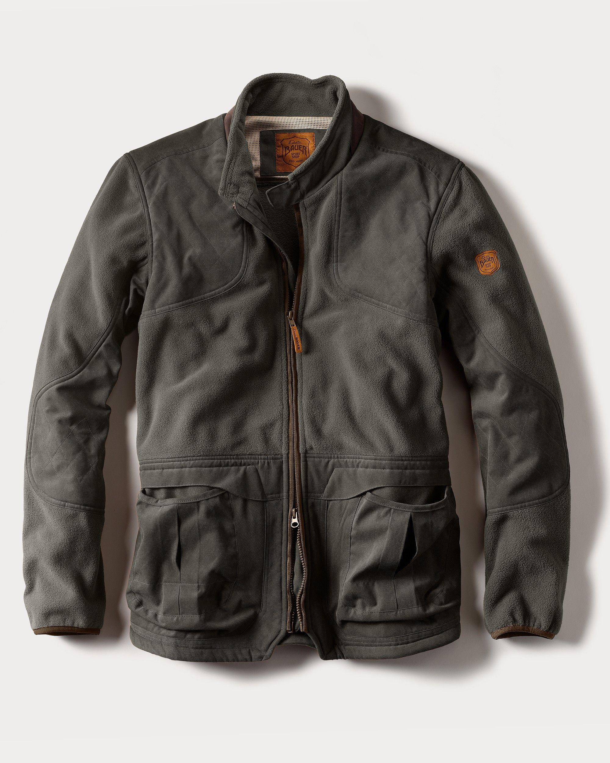 True Pair Fleece Shooting Jacket Ed Bauer Stylin