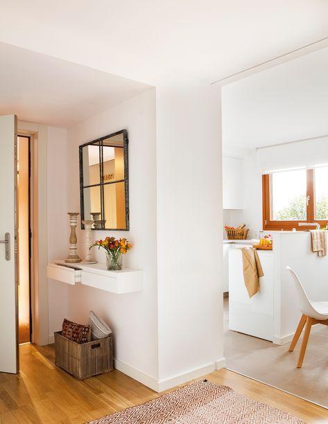 Espejos s pero bien ubicados deco hogar recibidores - Pisos bien decorados ...