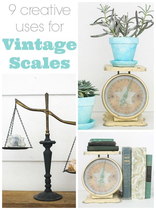 decorating Vintage scale