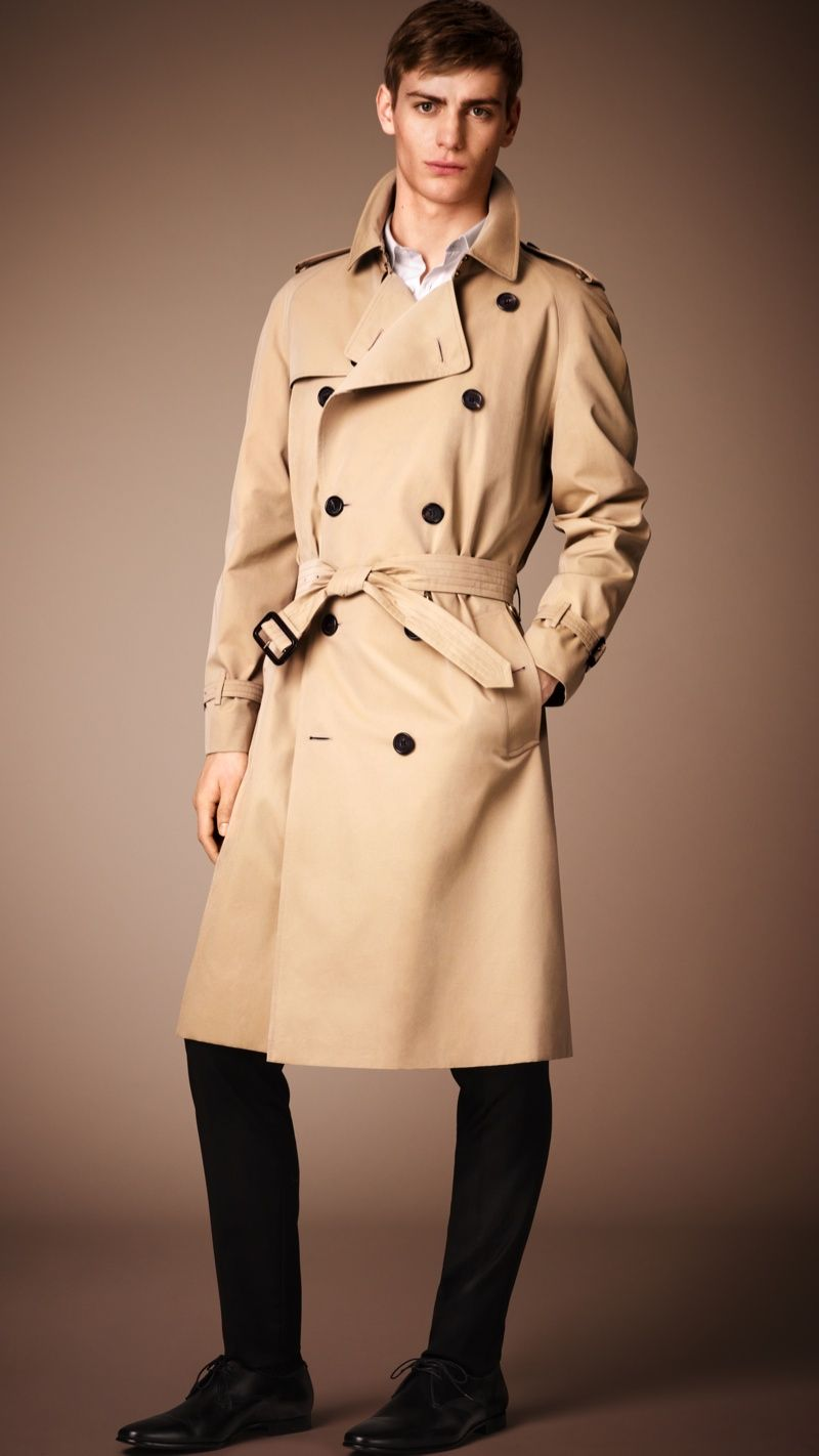 Burberry Men Heritage Trench Coat Collection: The Timeless Must ...