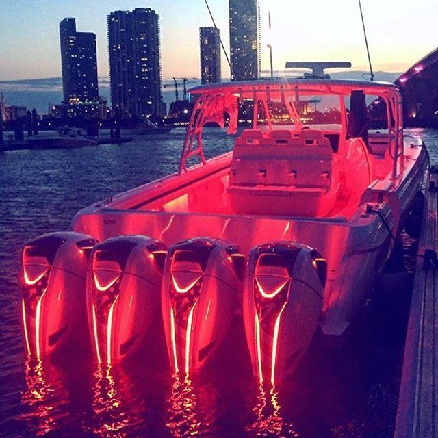 Quad Squad Seven Marine Red Lights Saltwater Fishing
