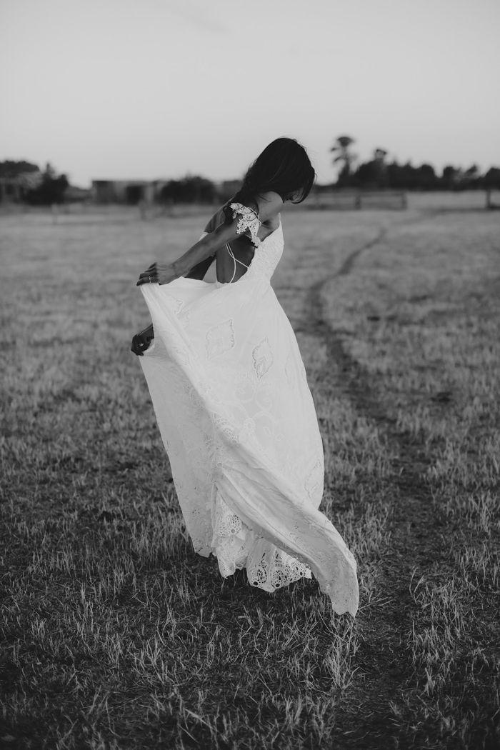 Boho bridal inspiration   Image by Eric Ronald Photography