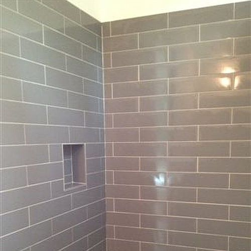 Sterling Gray Matte 4x12 Subway Tile