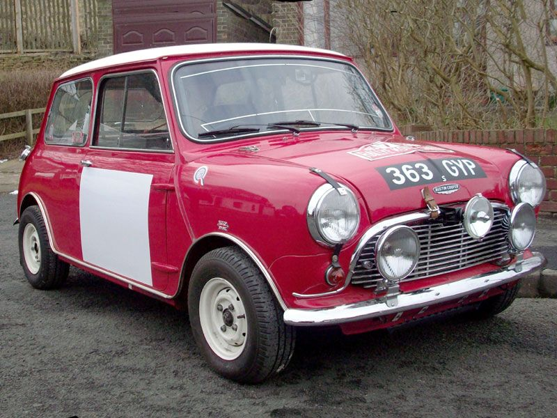 Morris Mini Cooper S / MK2 Works ST | Rally | Pinterest | Rally