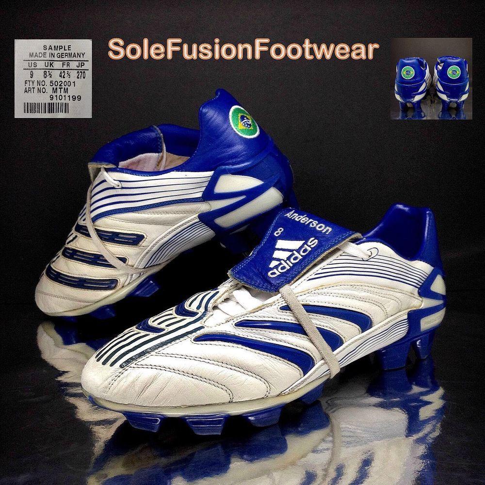 on sale cc446 dc58c Adidas Predator Mens Absolute Football Boots White Sz 8 5 Pro