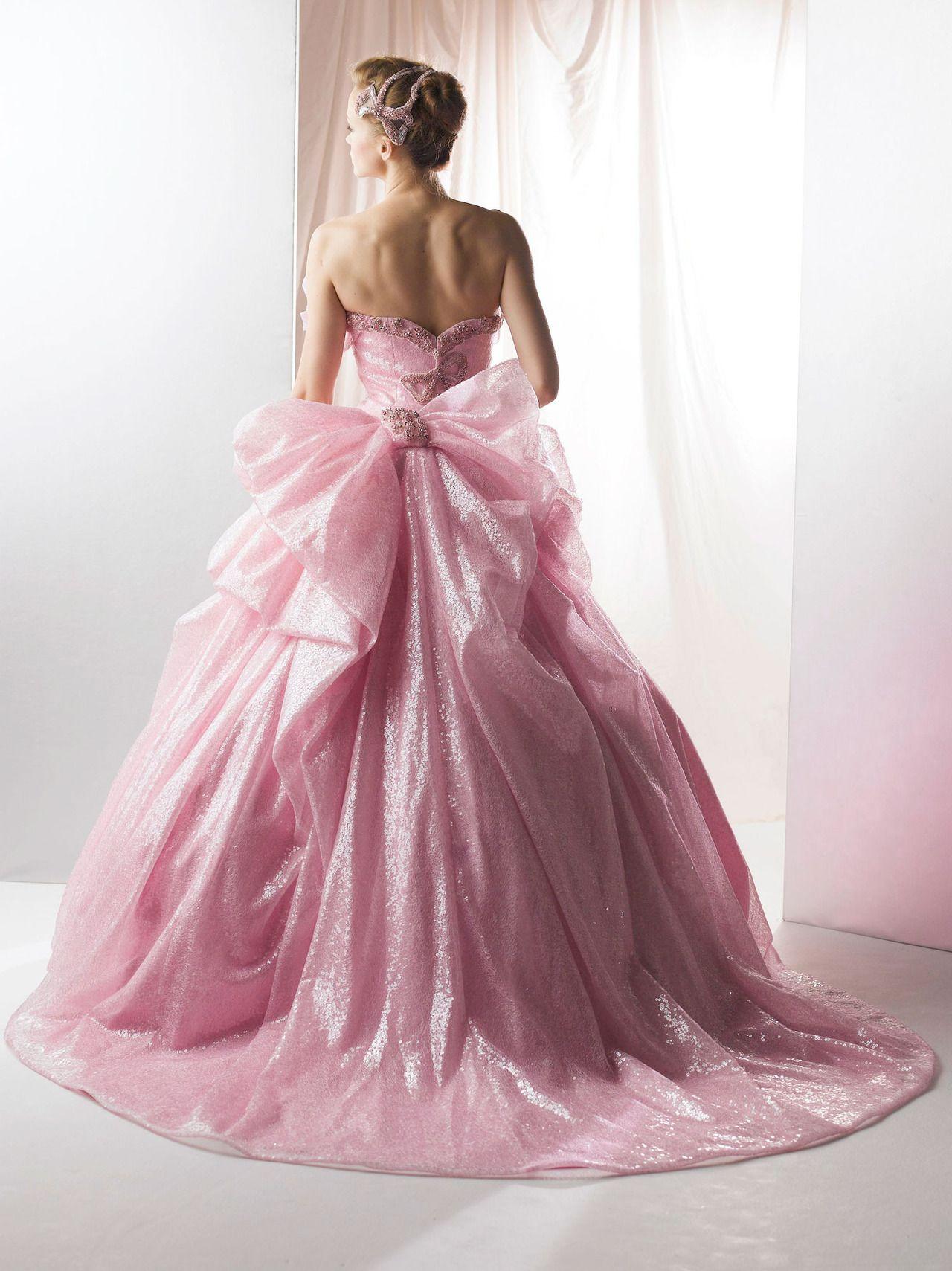 dball~dress ballgown | If only | Pinterest | Rosas fucsia, Fucsia y ...