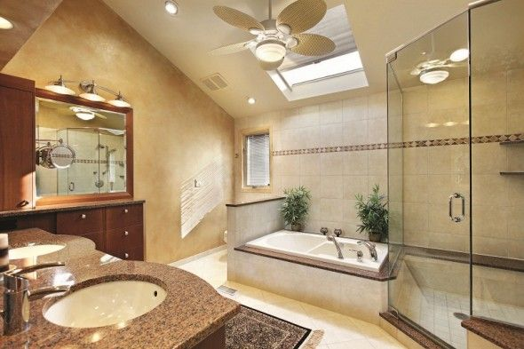Large Bathroom Designs Httpwwwdistrohomewpcontentuploads201310Luxurybig