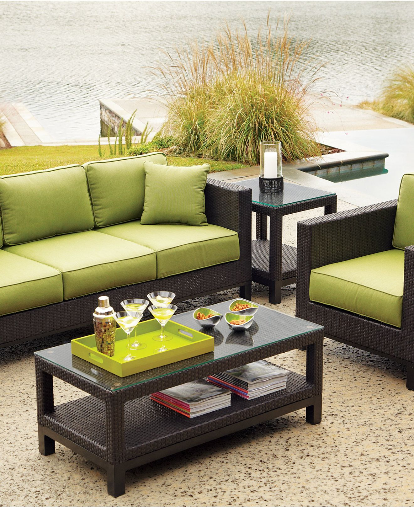 Belize Outdoor Seating Sets Pieces Shop All Outdoor Furniture Macy S Outdoor Seating Set Sectional Patio Furniture Wicker Sectional Patio Furniture