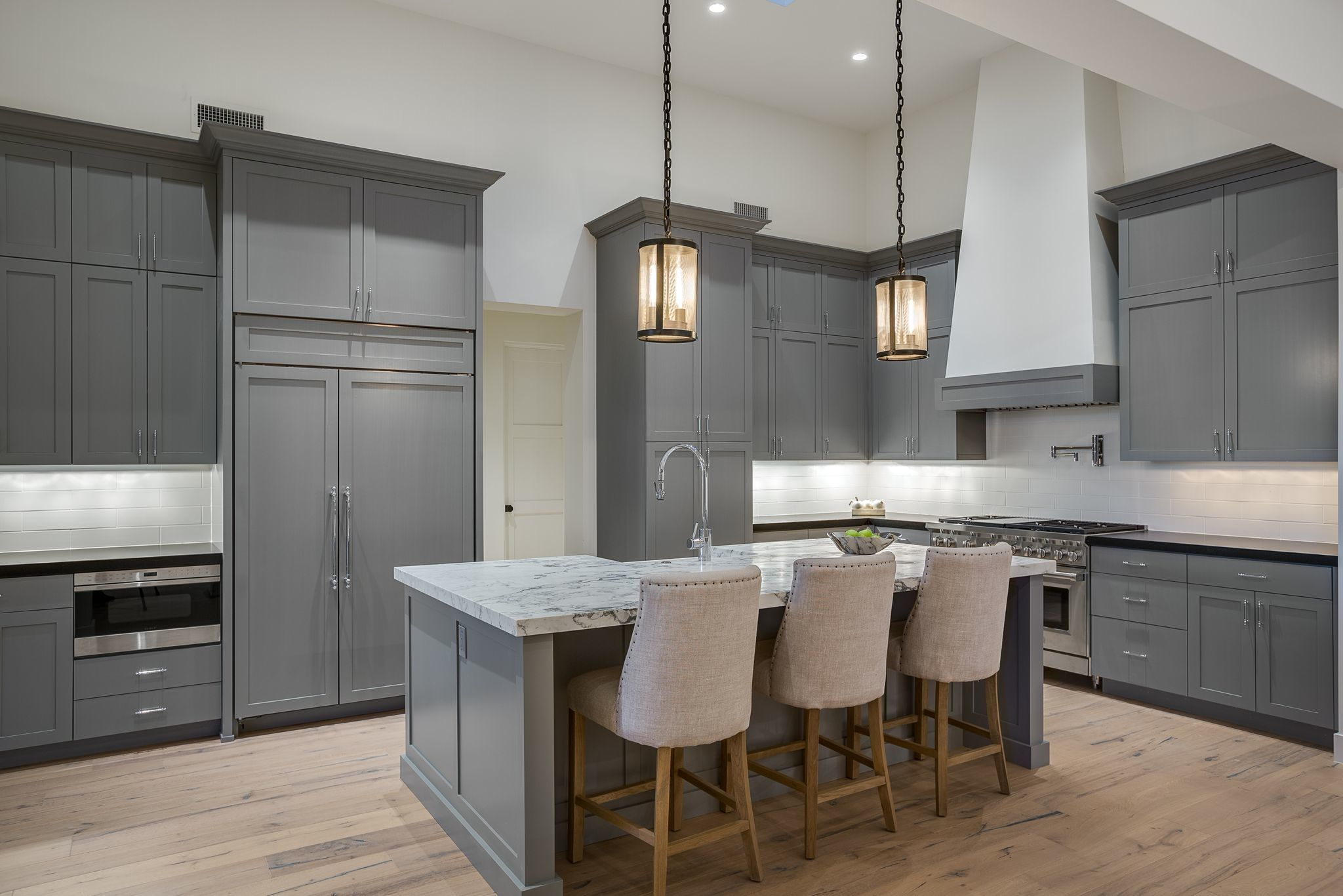 Custom Millwork Kitchen at DH776.  Designed by Michelle D. Young