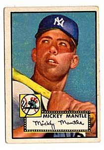 Mickey Mantle Baseball Card 1952 At National Museum Of