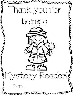 Mystery reader books for 1st grade