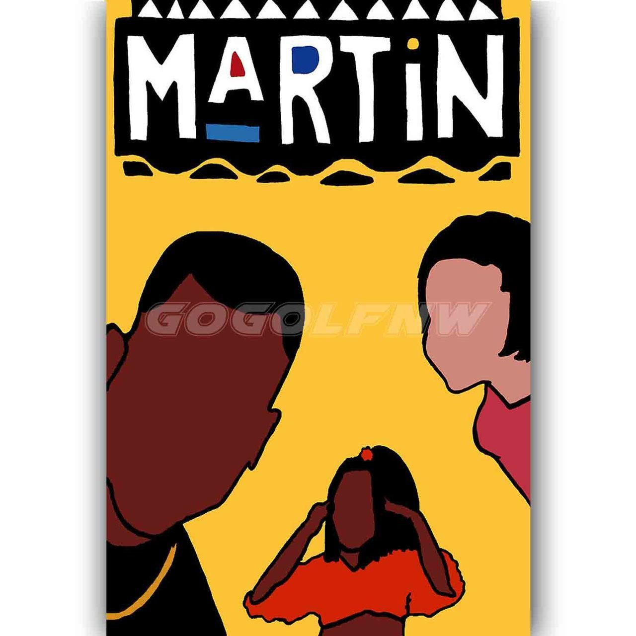 90s Vibe Hip Hop Martin TV Show Custom Personalized Silk Poster Wall ...