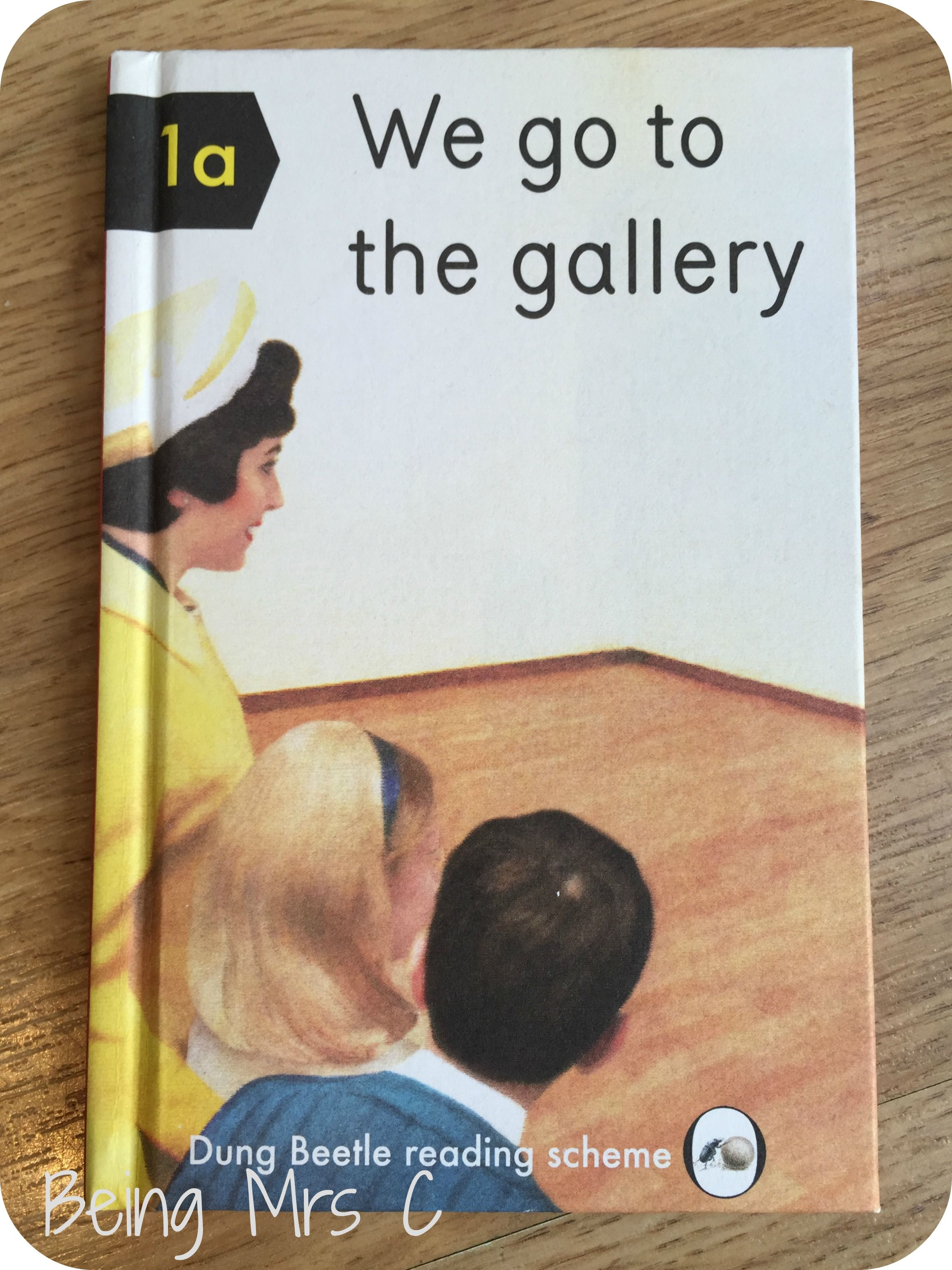 Ladybird Tuesday: We go to the gallery | Rockett st george