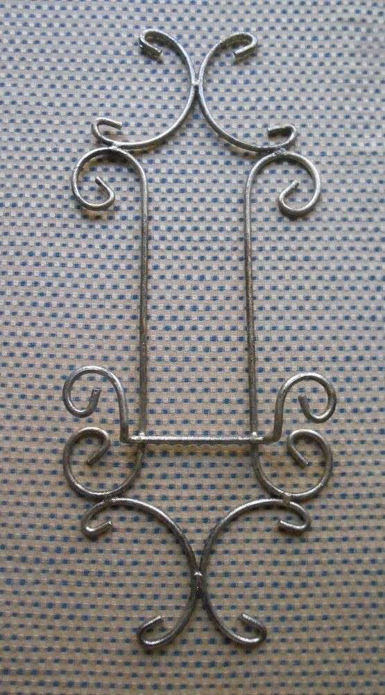 Decorative Plate Rack Hanger Single Display Holder Wall Mount Antiqued Finish #Unbranded & Decorative Plate Rack Hanger Single Display Holder Wall Mount ...