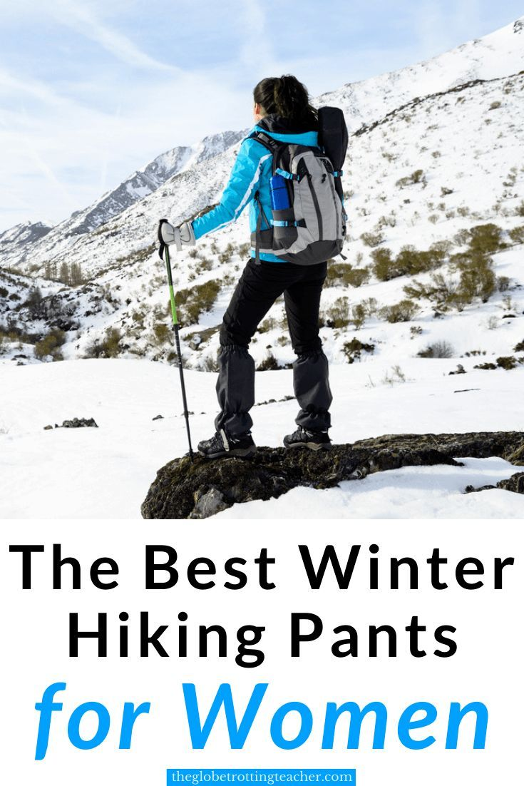 Photo of The 12 Best Winter Hiking Pants for Women – The Globetrotting Teacher