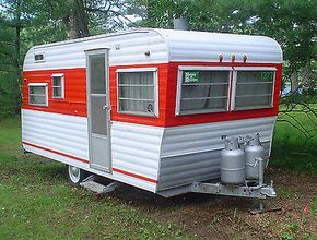 1964 Holiday Rambler Travel Trailer Holiday Rambler Travel Trailer Vintage Campers Trailers