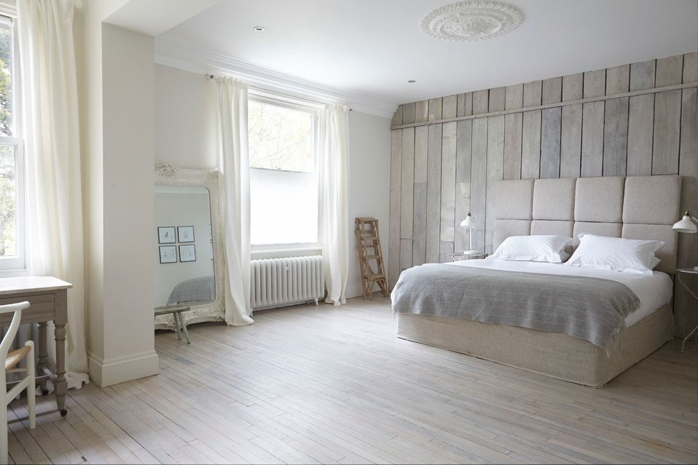 Picture Of How To Make White Washed Wood Floors Bedroom Design White Wash Wood Floors Tranquil Bedroom