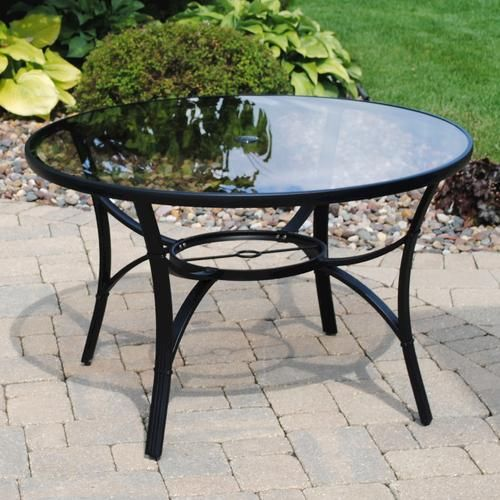 Backyard Creations® Augustine Round Dining Patio Table at Menards®:  Backyard Creations® Augustine Round Dining Patio Table - Backyard Creations® Augustine Round Dining Patio Table At Menards
