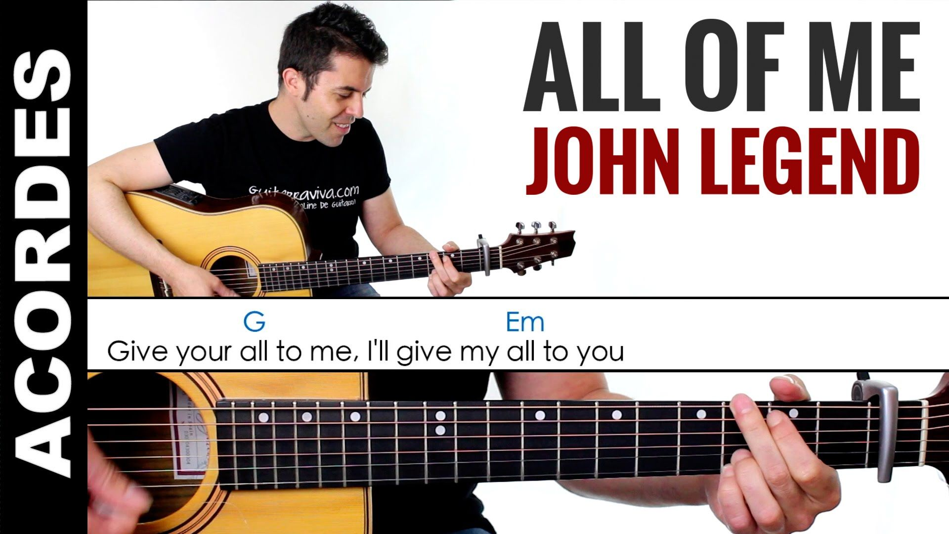 All of me acordes guitarra chords tutorial how to play clase all of me acordes guitarra chords tutorial how to play clase baditri Image collections