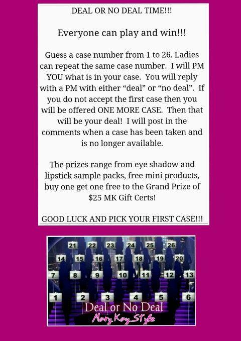 Mary Kay Facebook Party Games | Mary Kay | Mary kay ...