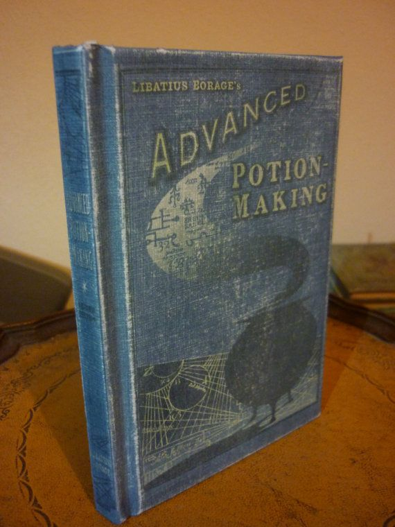 ADVANCED POTION MAKING..Blank notebook Harry by IgnisFatuusBooks