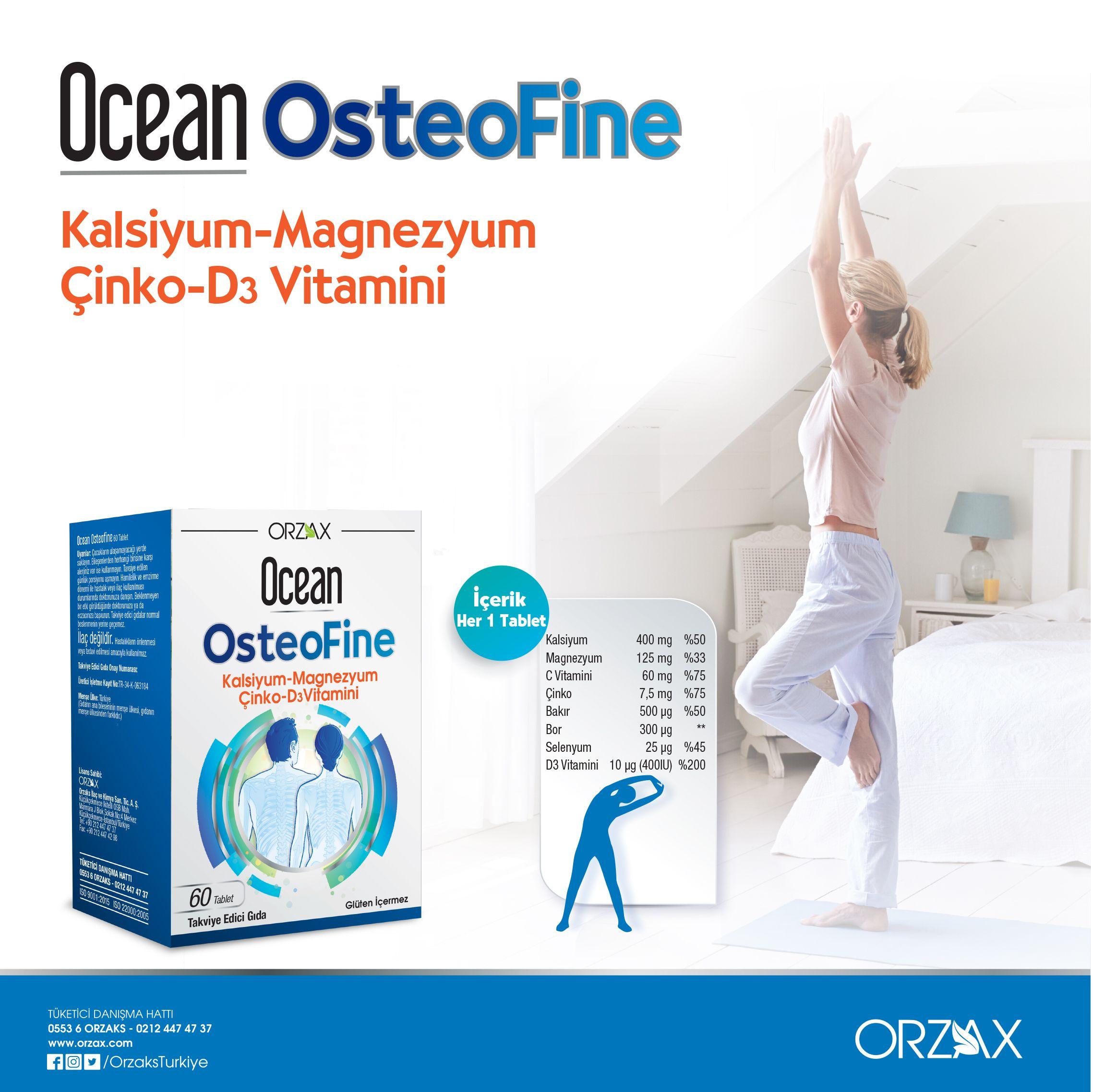 Ocean Osteofine Urunler Oya Bakir