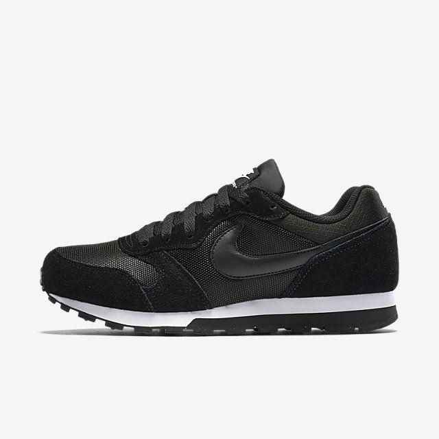 Nike Md Runner 2 Women S Shoe Nike Com Uk Black Shoes Women Nike Nike Runners