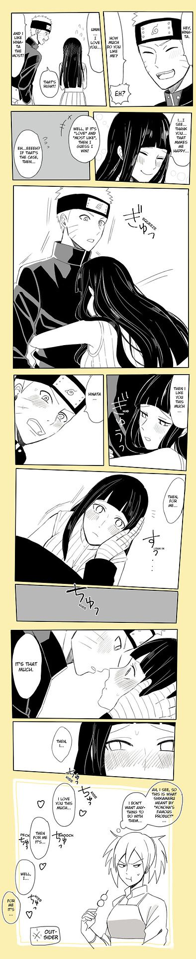Naruhina: How Much Do you Like me by bluedragonfan.deviantart.com on @DeviantArt So embarrassing xD
