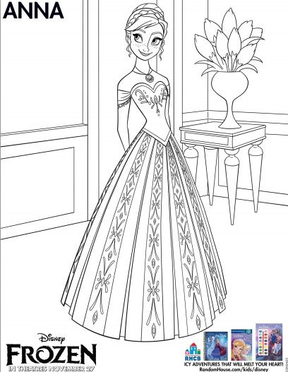 Disneys FROZEN Coloring Pages And More