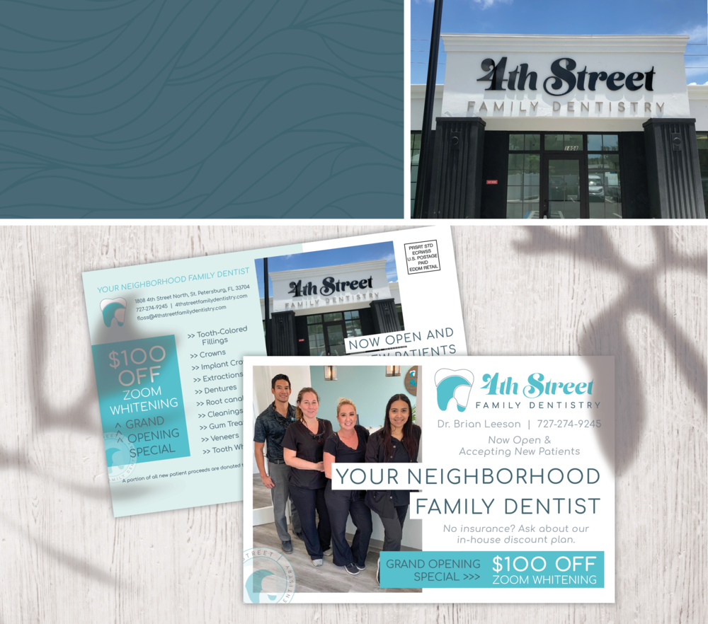 Projects 4th Street Family Dentistry — RYEN CREATIVE