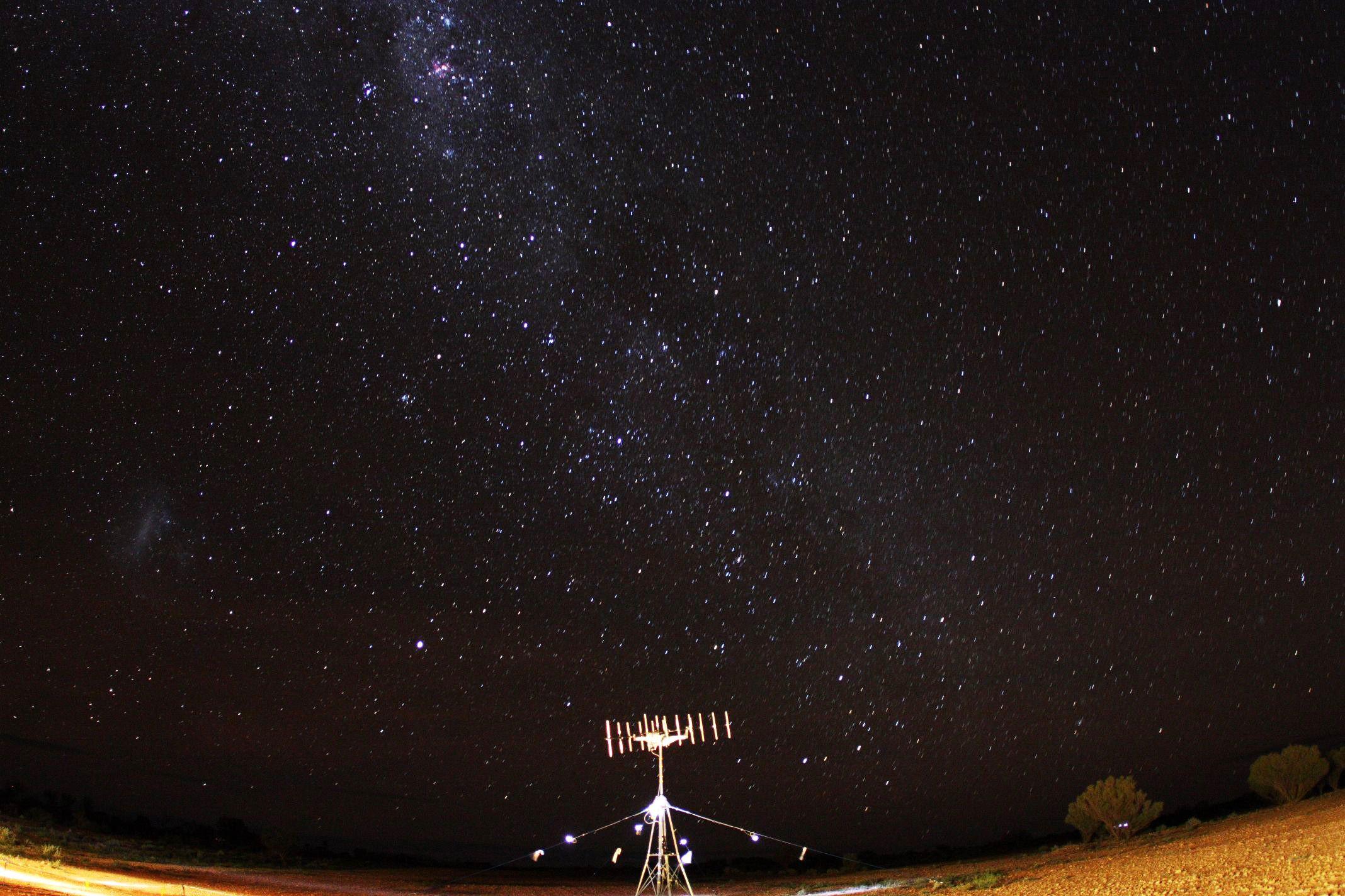 夜間リハーサルの写真