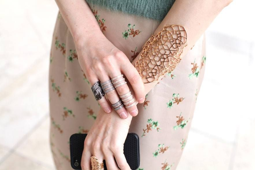 love the rings seen allover autumn/winter runways for heute couture in paris