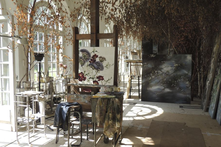 Basler's home, also her studio, is a former schoolhouse in Les Ormes, outside Paris. Featured in Elle Decor too many times to count, Chateau De Beauvoir...