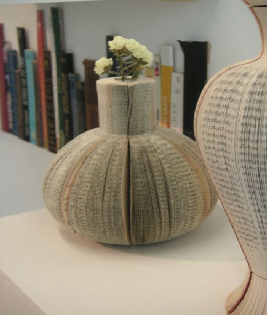 Great way to use old books!