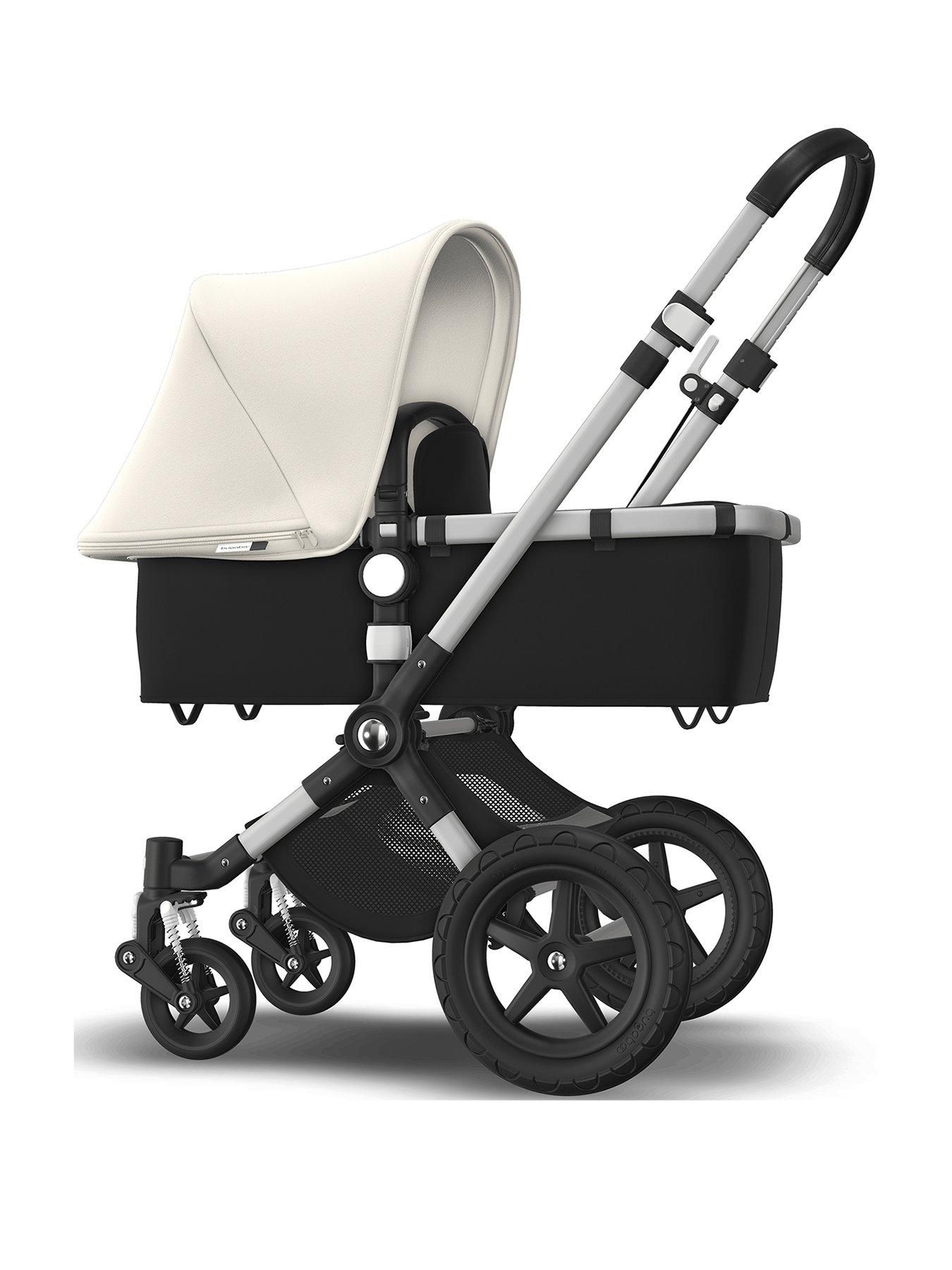 Kinderwagen Easywalker Duo Cameleon 3 Plus Pushchair Fresh White Bugaboo Stroller